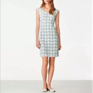 Tory Burch V-Neck Lace Sheath Dress